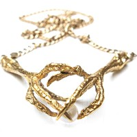 Double Claw Necklace | Tessa Metcalfe | Wolf & Badger