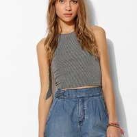 BDG High-Rise Belted Denim Short - Urban Outfitters