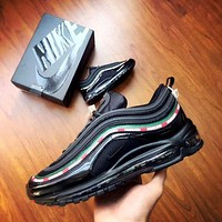 NIKE AIR MAX 97 Women Men Fashion Casual Running Sports Shoes Black G