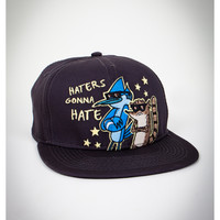 Regular Show 'Haters' Snapback Hat