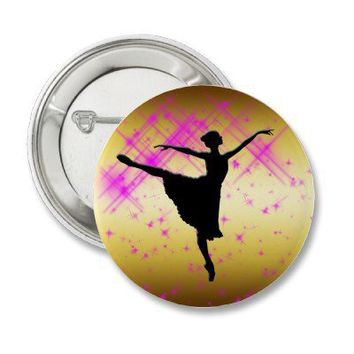 BALLET DANCER SILHOUETTE PINS