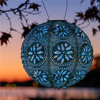 Soji Stella Solar Globe Lantern - Pearl (491571401), Sustainable Outdoor Lighting, Solar Lights & More | bambeco