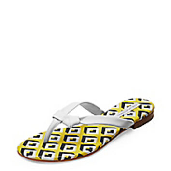 DVF Melanie Leather Flip Flop