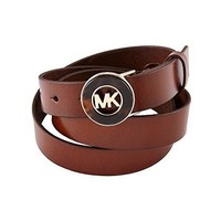 MICHAEL Michael Kors Belt With Tortoise Plaque