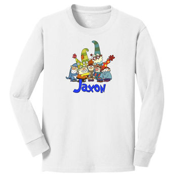 Disney 7D Dwarfs personalized long sleeve T shirts