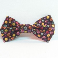 Country Floral Hair bow from Kute As a Button Shop