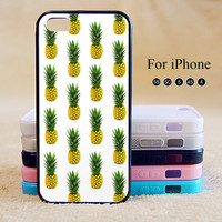pineapple,iPhone 5 case,iPhone 5C Case,iPhone 5S Case, Phone case,iPhone 4 Case, iPhone 4S Case,Case-IP002Cal