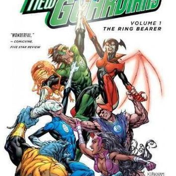 Green Lantern: New Guardians 1: The Ring Bearer (Green Lantern (Graphic Novels))