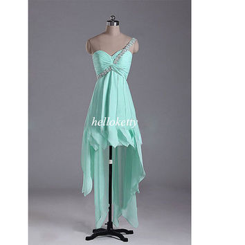 One-shoulder Party Dresses,Bridesmaid Dresses,Summer Dress,Evening Dresses,Prom Dresses,Maxi Dresses,Formal Dresses,Fancy Dresses,GK161