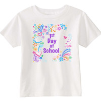 1st Day of School Girls T-shirt