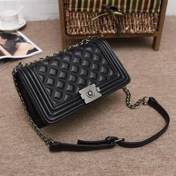 One Shoulder Autumn Chain Stylish Bags [11144733639]