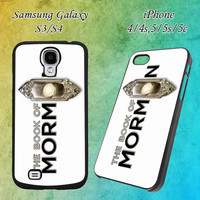 the book of mormon musical cover for iPhone 4/4s/5/5s/5c and Samsung Galaxy S3/S4 Case
