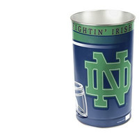 NCAA Notre Dame Fighting Irish Wastebasket, Football Theme