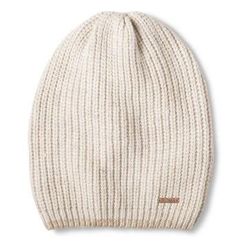 TOMS for Target- Women's Knit Beanie Oatmeal/Metallic Copper