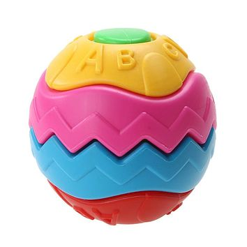 Funny Baby Kids Colorful Grasping Ball Puzzle Assembly Disassemble Balls Children Early Educational Toy