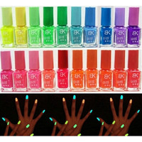 20 Candy Colors Glow The Dark Luminous Fluorescent Nail Art Polish Enamel = 1958555652