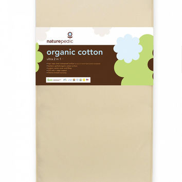 Naturepedic Crib Mattress - Organic Cotton Ultra 2 in 1