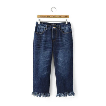 Summer Boot Cut Jeans [4919969668]