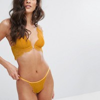 Free People Lace Underwire Bra at asos.com
