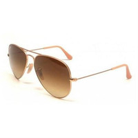 Ray-Ban Sunglasses RB 3025 112/85 Matte Gold 58MM