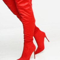 Jetsetter Boots - Red