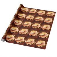 Seashell Wrapping Paper