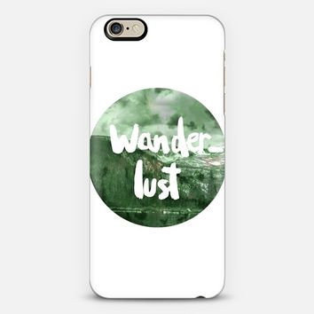 Wanderlust iPhone 6 case by Mariam Tronchoni | Casetify
