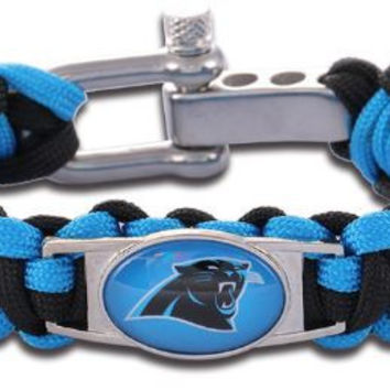 NFL - Carolina Panthers Custom Paracord Bracelet