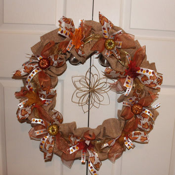 Fall Harvest Decor Wreath