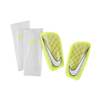 Nike Mercurial Flylite Soccer Shinguards Size XL (Yellow)