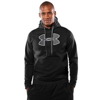 Men's Armour® Fleece Big Logo Hoody Tops by Under Armour