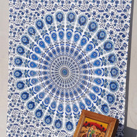 Beautiful Indian Tapestries Mandala Tapestry,Hippie Wall Hanging,Hippie Tapestry,Bohemian Tapestry,Indian Boho Cotton Bedspread Bed Sheet