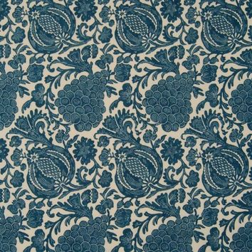 Kasmir Fabric Turtle Bay Indigo