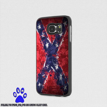 Confederate Rebel Flag Painting for iphone 4/4s/5/5s/5c/6/6+, Samsung S3/S4/S5/S6, iPad 2/3/4/Air/Mini, iPod 4/5, Samsung Note 3/4 Case * NP*