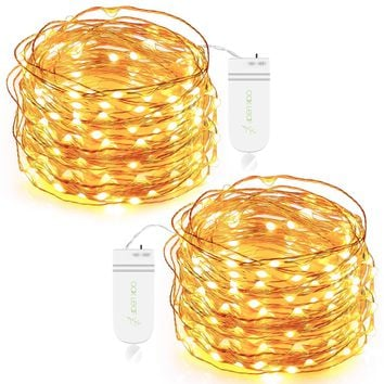 SETS of 30 LED Starry Fairy Battery Operated String Lights