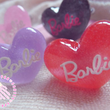 Barbie heart ring