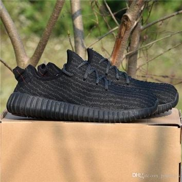 PEAPNU [With Box] Yeezy Boost 350 Adidas 2017 High Quality Kanye West Pirate Black Turtle Dov