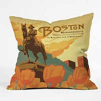 Anderson Design Group Boston Throw Pillow