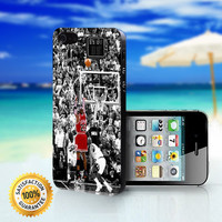 MIchael Jordan Shot in Black and White - For iPhone 4/4s, iPhone 5, iPhone 5s, iPhone 5c case. Please choose the option
