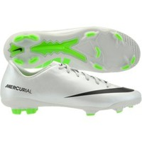 Nike Kids' Mercurial Veloce FG Soccer Cleat - Silver/Black | DICK'S Sporting Goods