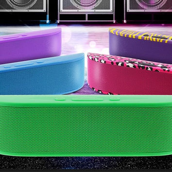 Portable Bluetooth Speaker with Built-In Mic by Aduro