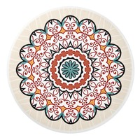 Pretty Mandala Ceramic Knob