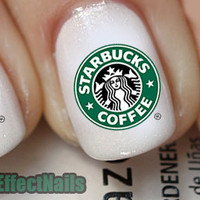 Starbucks Nail Decals