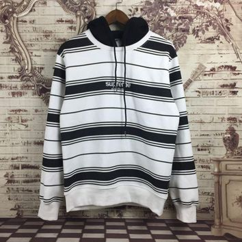 DCCK7XP Stripes Pullover Hoodies Star Winter Long Sleeve Hats