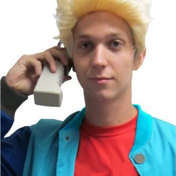 90's Sitcom Stud Costume Wig - Saved by the Bell - | TV Store Online