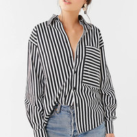 House Of Sunny 802 Striped Button-Down Top | Urban Outfitters