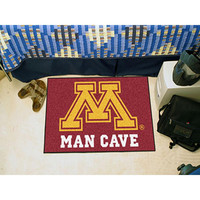 Minnesota Golden Gophers NCAA Man Cave Starter Floor Mat (20in x 30in)