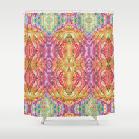 Psychedelic Journey GOA 1 Shower Curtain by Webgrrl | Society6