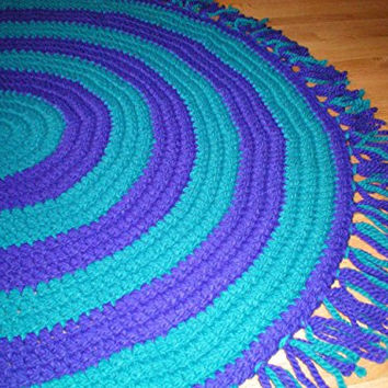 Best Purple Teal Rug Products On Wanelo
