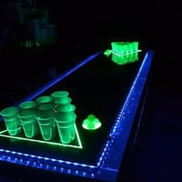 Custom Beer Pong Tables by bulldogfurniture on Etsy